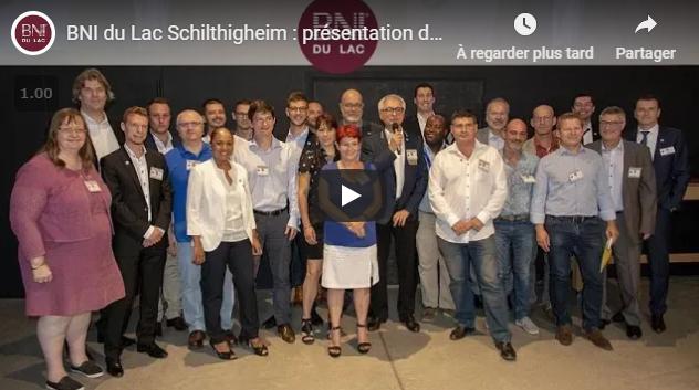 Lancement groupe BNI du Lac Schiltigheim
