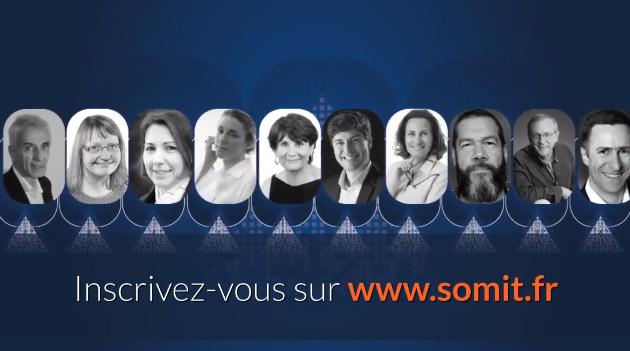 Invitation au SOMIT des 5 et 7 mars 2019 organisé par ACTI Web Mobile, Aubance et IT Agence